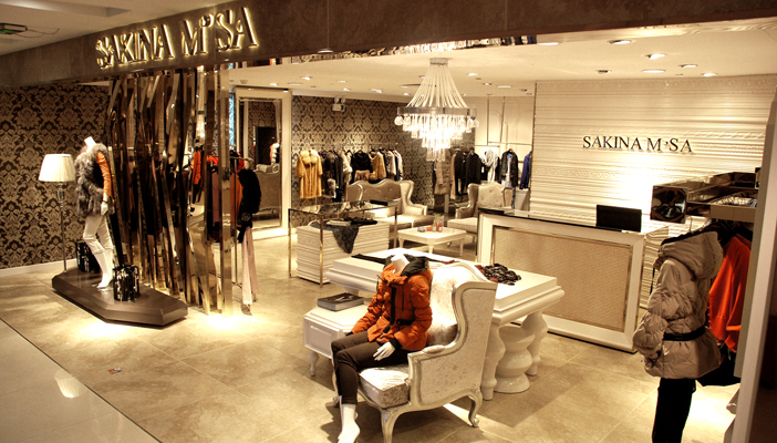 女装店面形象设计|服装专卖店设计|深圳女装形象设计