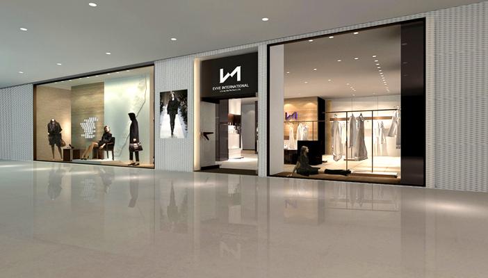 服装专卖店设计图片